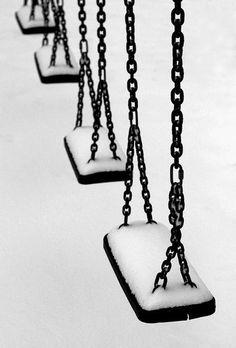 Swinging in Winter