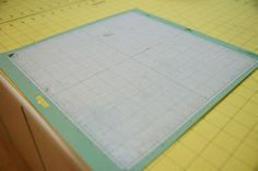 How to make your Cricut mat sticky again
