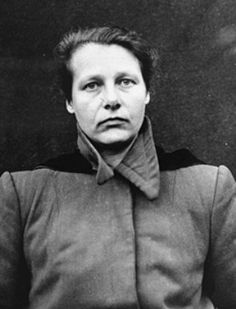 Dr Herta Oberheuser performed gruesome experiments on prisoners of the Ravensbrück concentration camp. Working under the other arch butcher, Karl Gebharrdt, she removed limps from children, deliberately inflicted wounds on her victims and then rubbed foreign objects, like rusty nails and sawdust into the wounds in order to simulate battlefield injuries. She escaped the gallows,practiced medicine until 1956, and lost her license when a Ravensbrück survivor recognized her. She died in 1978.