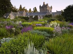 The Flower Garden at Cawdor House