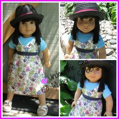 American Girl Doll Clothes Under the Sea by 123MULBERRYSTREET, $25.00