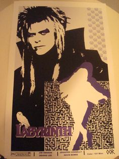 Labyrinth movie poster print by EscapeCapsule on Etsy, $6.99