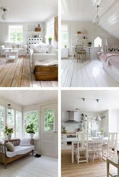 simple bright cottage style