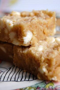 White Chocolate Macadamia Nut Blondies... yum