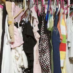 """Urge To Purge: """"Remember that 80 percent of the time, we wear only 20 percent of our clothes,"""" says McKenry. So go through your wardrobe and jettison anything that's one of the four S's: stretched, small, smelly (ew!), or stained (sure, you could clean the stained and smelly pieces, but the idea is to let things go)"""