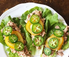 5-Minute Healthy Tuna Salad: 4 Ways - These healthy tuna salad recipes are filling and delicious ... better yet, they only take 5 minutes and can be made in your work lunch room!