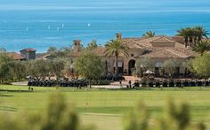 Pelican Hill Golf Clubhouse - one of the most amazing views I've ever seen!