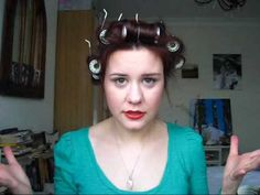 HOW TO: 1940s hair for low maintenance girls