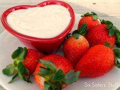 Orange Creamsicle Fruit Dip Recipe | Six Sisters' Stuff