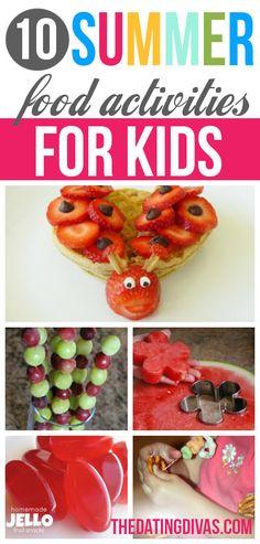 10 Fun Food Activities for Kids