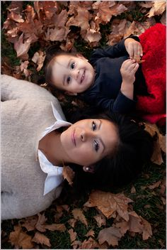 Fall Family Portraits #children #fall #leaves