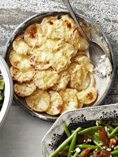 Potato and Celery-Root Gratin