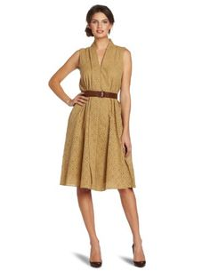 Wadulifashions — Jones New York Women's Eyelet Dress