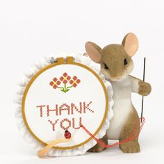 Thank You Sew Much Charming Tails Artist Dean Griff