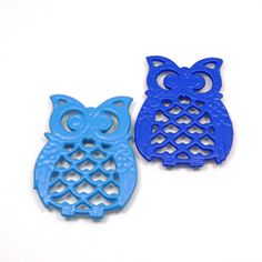 Upcycled Vintage 1970s Owl Coasters, $12.50 from BlissAndVinegar on Etsy