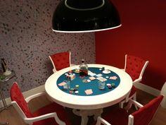 Mostrar morar mais Brasília 2013 | Sala de jogos | #playroom #interiordesign #cards