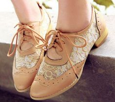 I need these Cute Lace Oxford Shoes | andRuby #thebestdeals