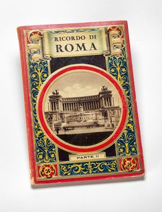 """Ricordo di Roma: Parte II"" from Charles and Maurice Prendergast's Personal Book Collection."
