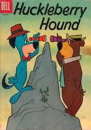 Huckleberry Hound and Yogi Bear <3 huckleberri hound, yogi bear, ll rememb