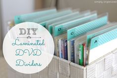 simply organized: dvd organization: one last tweak