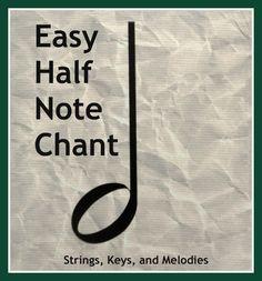 Easy Half Note Chant
