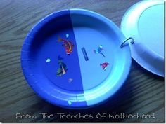 days of creation plates