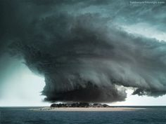 Very neat cloud triangles, islands, weather, storm clouds, storms, place, tornado, mother nature, bermuda triangle