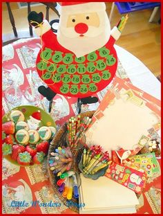santa letter writing party