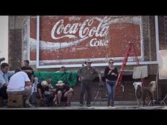 """The Making of the Coke campaign """"Bobby""""...."""