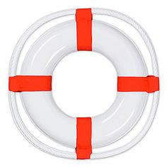 Plastic Life Preserver, Life Perserver Decoration