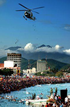 Bendición del mar en Puerto Cabello