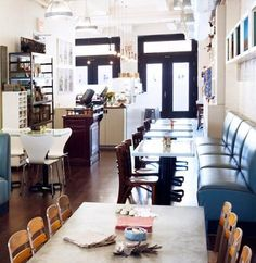 Restaurant Visit: Moomah Cafe in New York City Remodelista