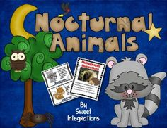 Nocturnal Animals: Reading Informational Text! Enter for your chance to win 1 of 2.  Nocturnal Animals: Reading Informational Text (54 pages) from Sweet Integrations on TeachersNotebook.com (Ends on on 10-12-2014)  Two people will win this complete unit about nocturnal animals. This unit includes poster about reading informational text, activities about the animals and lots of activities.