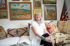 Home stylist, magazine editor and author Mary Emmerling now calls Scottsdale home.