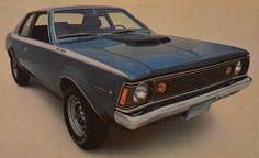 1971 AMC Hornet SC/360 My first car! It had the coolest plaid interior!  Memories!!!