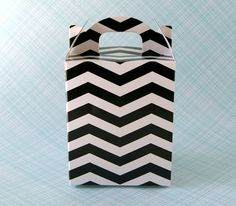Chevron Party favor box