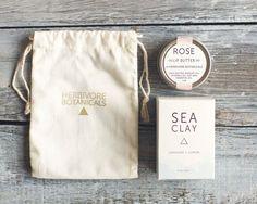 Soap + Lip Butter Gift Set. Gift Bag. 100% Natural. Vegan. Handcrafted. Lip Balm. Soap. on Etsy,