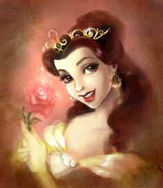 Belle...again. by Elf-in-mirror.deviantart.com