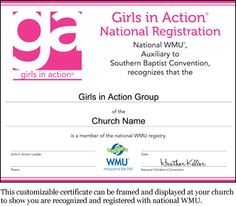 Have you registered your GA group? Go to www.wmu.com/register to register your group and print your registration certificate! #GA100