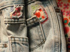 Mending    Easier to mend than replace a good pair of jeans.