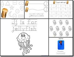 Jj is for Jellyfish
