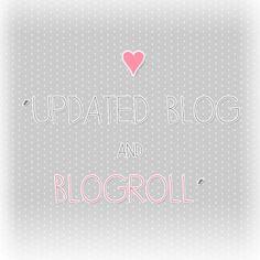 Blog Update & Blogroll <3 | Flickr - Photo Sharing!