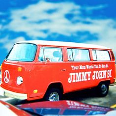Throw Back Old Jimmy John's Delivery Van