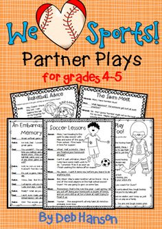 A set of Partner Plays for upper elementary students!  Perfect for fluency work! $
