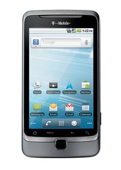T-mobile G2 - Great keyboard, great Android phone. Left me wanting another BlackBerry.