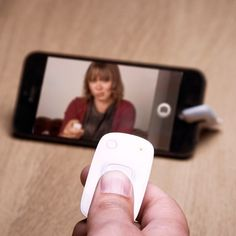 Smartphone Camera Remote for selfies