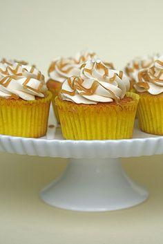 banana caramel cupcakes by annieseats, via Flickr