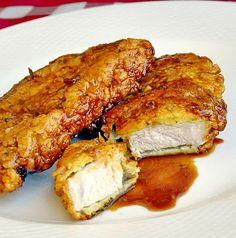 Double Crunch Honey Garlic Pork Chops - Rock Recipes -The Best Food & Photos from my St. John's, Newfoundland Kitchen.