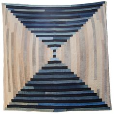 Folk Fibers Courthouse Steps Quilt