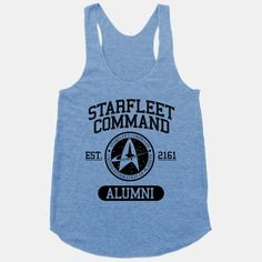 Starfleet Command Alumni | HUMAN | T-Shirts, Tanks, Sweatshirts and Hoodies